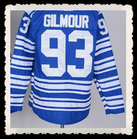 Free Shipping Cheap Maple Leafs #93 Doug Gilmour Jersey,2014 Winter Classic Blue Jerseys,Numbers And Name Are Sewn On