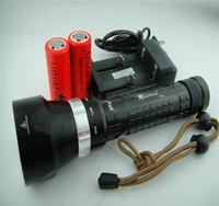 SolarStorm 6000 Lumen Scuba Diving 4x CREE XML T6 LED Underwater Flashlight Torch Waterproof Light 26650 6800mAh Battery Charger
