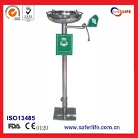 wholesale industrial equipment Home safety  stainless steel emergency portable eyewash station emergency shower