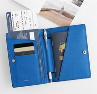 New Travel Passport Cover Holder Case/ Wallet / PU Leather KK02