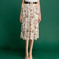 Skirts Womens Saias Femininas Skirts None Print Casual Worsted Cotton Summer Fairy Skirt Women Clothing 2014 New Wear Hot Sale