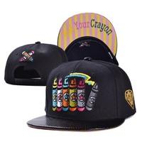 2014 fashion adult letter get your crayon hats caps visor 1pcs AH014R