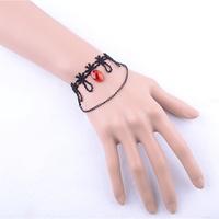 Ruby crystal bracelet costume jewelry bracelets women hand bracelets wedding return gift fashion jewelry free shipping