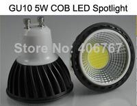 Wholesale Free Shipping High Quality LED Spotlight 5W COB LED Bulbs GU10 LED Lamp 200PCS/lot