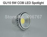 Wholesale Free Shipping High Quality LED Spotlight 5W COB LED Bulbs GU10 LED Lamp 300PCS/lot