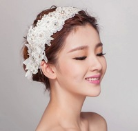 2014 Vintage Flower Crystal Tiara Bridal Hair Accessories For Wedding Quinceanera Tiaras And Crowns Pageant Rhinestone Crown