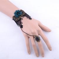 Flower pulseras women hand bracelets rings jewelry wholesale jewelry wedding return gift fashion jewelry free shipping