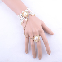 Pearl new gold bracelet designs infinity bracelet wholesale handmade accessories hand bracelet rings free shipping