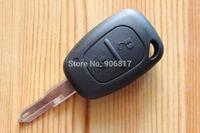 2014 Hot Sale 2 Button Remote Key Case Blank Key Shell for Renault Traffic/Master/Vivaro/Movano/Kangoo Car Keys + Free Shipping