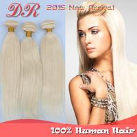 aliexpress best selling,bleach Blonde color 613 Silky Straight Brazilian Virgin Human Hair weave 3/4/5pcs mixed lengths