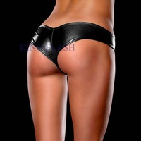 Cheapest Hot Sexy Metallic Micro Shorts Panty Thongs 8 Colors SV000428