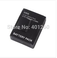 1600MAH battery for gopro hero 3 AHDBT-301 AHDBT-201 GOPRO Hero3 5M 11M 12P 1080P Camera