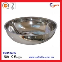 Home safety  emergency safety stainless steel eyewasher spare basin