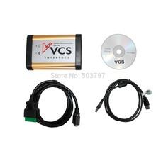 EMS доставка ! Профессиональный VCS связи корабля Сканер VCS интерфейс сканера Englsih / русский / испанский / французский(China (Mainland))