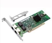 PCI 32bit Dual-port Gigabit Ethernet 8492MT Intel82546 10/100/1000Mbps RJ45 CARD Sever Network Card
