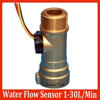 """Electronic Hall Water Flow Sensor Liquid Flow Meter 1-30L/M G1/2"""""""