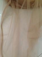 160cm width nude color soft light mesh net fabirc bridal wedding dress,skirt,veil,curtain,mosquito net,party backdrop,ball gown.
