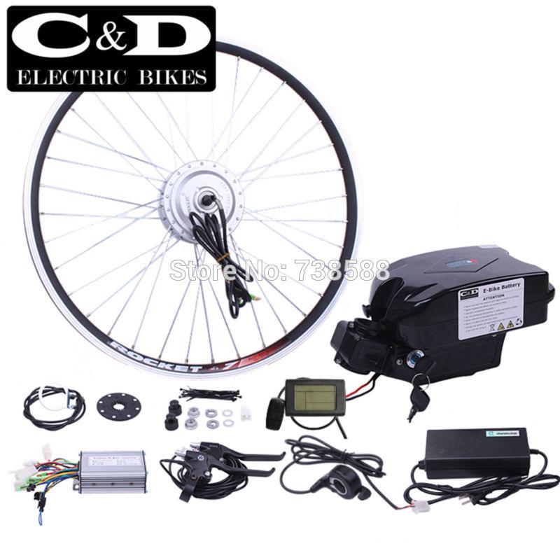 ebike kit Electric bike conversion kit 36V250W48V350W motor MXUS brand 36V12AH 48V8AH SeatFrog battery LED LCD display optional(China (Mainland))