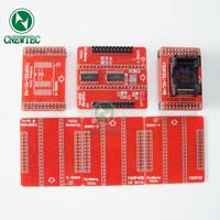 6pcs 100% original Adapters MiniPro TL866 Universal Programmer TSOP32 TSOP40 TSOP48 Sockets TL866A TL866CS