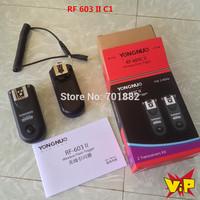 Yongnuo RF-603II Flash trigger Shutter release Remote RF 603 II C1 for C 60D 350D 450D 500D 550D 600D 650D 700D 1000D 400D 300D