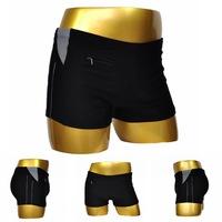 High Quality Branded Mens Swimwear Trunks Hidden Pocket Sexy Men's Swimsuit Trunks Beach Wear  Plus Size 2XL-6XL XX-195