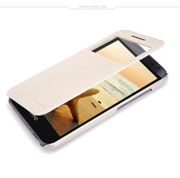 Hight Quality Leather Case For HTC Desire 616 616W D616 D616W Wallet Leather Cover For HTC 616w With Open Window Free Shipping