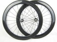 carbon fiber bicycle wheels 60mm clincher,23mm width carbon wheels