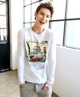 2014 New autumn clothing Cotton London City Long Sleeve T Shirts Spring T shirt