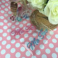 Free Shipping I DO + Me Too Wedding White Sticker Wedding Decoration Wedding Supplies Casamento Decoracao Wedding Shoe Stickers