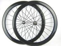 25mm width 50mm tubular 700c carbon fiber bicycle road wheelset,bike wheelset