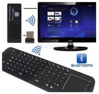 [Free RC11 Air Mouse Keyboard] Original MK808B Android 4.2 Mini PC RK3066 Dual Core Stick TV Dongle MK808 Bluetooth
