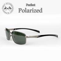 New Aviator Men Polarized Lens Alloy frame sunglasses Driver Mirror Glasses Male Fishing Outdoor Sports Eyewears free shipping