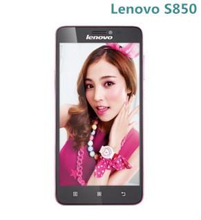 Original phone Lenovo S850 5.0 Inch MTK6582 Quad core Android 4.4 Gorilla Glass 16GB ROM 13.0MP Camera Dual SIM(China (Mai
