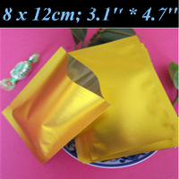 500pcs/lot 8x12cm (3.1'' * 4.7'') Thickness 160mic Al Transparent-Silver Vacuum Bags,Foil Vacuum Storage Bag,For Food Fresh