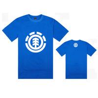 11  styles Element  tee shirts hiphop  white logo stree  tees short sleeve t-shirts cheap o neck tees men t shirt  Freeshipping