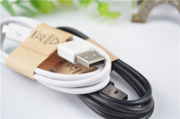 1m black/white Micro USB Cable 2.0 Data Sync Charger Cable For Samsung Galaxy S2 S4 S3 III Note 2 II I9500 I9300 I9100