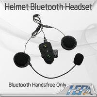 Motorcycle waterproof Motorbike Helmet Bluetooth intercom Multi Sports Handsfree Headset