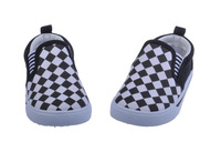 2014 Spring Models Cute Flats With Grid Lighted Kids Shoes Boys Girls Shoes Children Shoes In All Season Free Shipping
