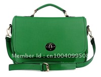Briefcase Messenger PU Leather Women Handbag Shoulder Bag