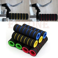 2014 New 1 Pair Bike Racing Bicycle Motorcycle Handle Bar Foam Sponge Grip Cover Nonslip Free Shipping