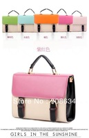 5 Colors Fashion Women Clutch Shoulder Handbag Tote Sling Messager Hasp Bag
