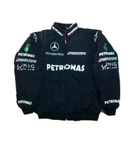 2014 Formula Racing Suit McLaren Mercedes Qiu Dong Long-sleeved Racing Winter Cotton-padded Men Jacket Embroidery RJ056w M-XXXL