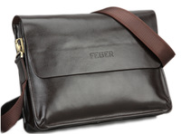 2014 the new low price Feger designer business messenger bag, business briefcase man, composite with high quality cowhide