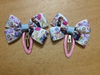 50pcs/lot Frozen hair bows frozen hair clips for girls Children Frozen Hair Accessories