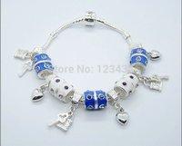 Free Shipping wholesale 925 Silver fashion jewelry bracelet.silver bracelet The promotion of women