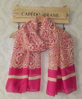 Ladies scarves 2014,rose print,Flower print,muslim hijab,Floral hijab,shawls and scarves,viscose scarf,designer scarf,bandana