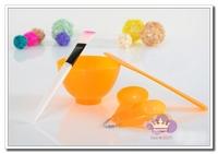 New 4 in 1 Beauty DIY Facial Mask Tool Bowl Set Mixing Bowl Brush Spoon Free Shipping