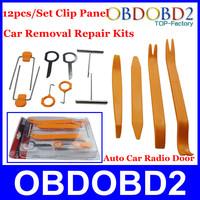 2014 Top Rleated 12pcs/Set Car Refit Full Kits Auto Car Radio Door Clip Panel Trim Dash Removal Installer CNP Free Shipping