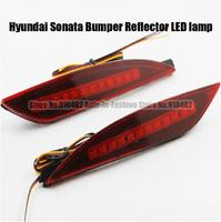 Free Shipping Car Red Len Rear Bumper Reflector LED Stop Brake LED brake rear Lamp for Hyundai Sonata Bumper Reflector LED lamp
