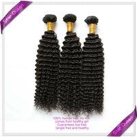 6A Unprocessed Mongolian Kinky Curly Virgin Hair 100% LuvinHair Products Deep Curly Virgin Hair 3/4pcs lot Human Hair WeaveWavy
